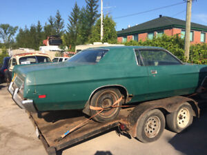 1971 ford custom 500 parts or project