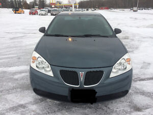 2006 Pontiac G6 SE Sedan safety & e test low KM.