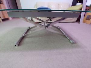 Glass coffee table OBO