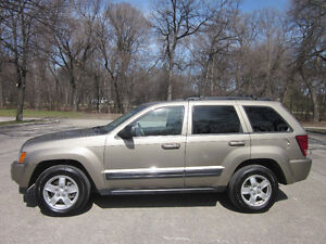 2006 Jeep Grand Cherokee Leather Moonroof Loaded Low KM's