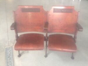 RARE Antique Theatre Seats - These are really beautiful!