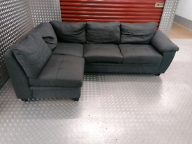 ARGOS CORNER SOFA BED WITH STORAGE LOCAL DELIVERY AVAILABLE RRP £700