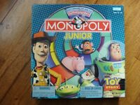 Monopoly Junior Toy Story Board Game