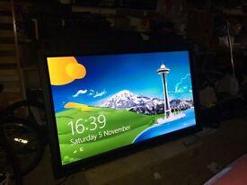 """66"""" Panasonic tv/screen"""