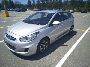 Hyundai Accent 2013 hatchback anti-rouille garantie