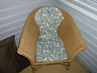 2 RUTTAN CHAIRS WITH PADS
