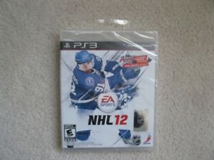 Playstation 3 NHL 12 Game (Brand New In Seal)