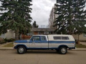 1978 Ford F250 Supercab Camper Special