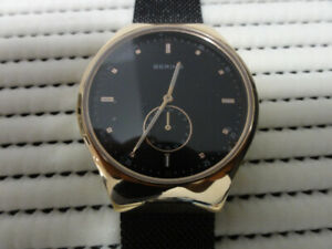 Gorgeous Bering Bluetooth Watch Denmark Brand New !