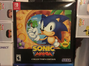 Sonic Nintendo Switch collector NEW