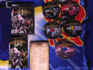 Lord of The Rings : Battle For Middle Earth 2 ( Missing Disc 1 )