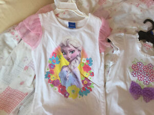 New with tags - Girls size 7  Frozen t-shirt and set Cambridge Kitchener Area image 2