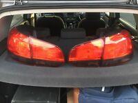 VW Golf MK6 taillights smoked