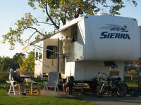 5th wheel trailer and truck for sale