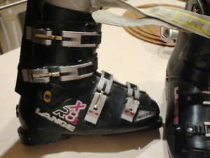 "Lange RX8.5 Deep Forest Green Unisex Ski Boots-Act foot Size 9"" Kitchener / Waterloo Kitchener Area image 4"