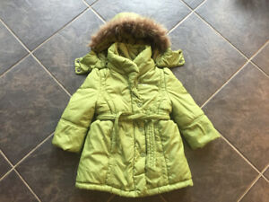 Girls size 2 Mexx winter coat