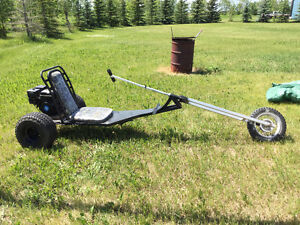 FOR SALE .. GO CARTS  1 BUGGY 1 CHOPPER .. 6.5 HP MOTOR