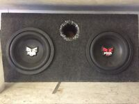 Rockford subs and amp for sale