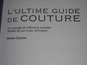 Ultimate Sewing Bible Modus Vivendi Book (in French) How to Sew West Island Greater Montréal image 8