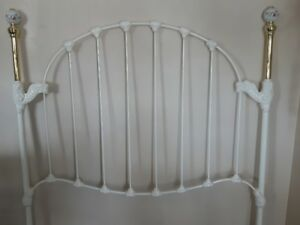 Double headboard, metal