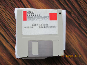 Dbase 4 version1.5 for DOS