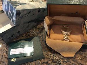 ROLEX PRESIDENT 18038 18K GOLD $19,500 or best offer