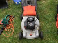 flymo petrol lawnmower in good working order