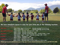 Pre School soccer classes