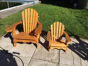 chaise medium pour enfant cedre blanc