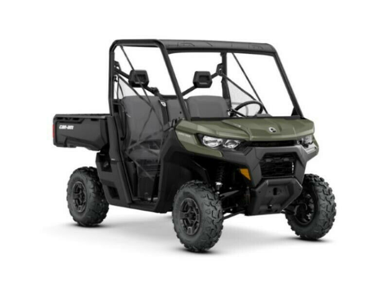 2020 Can-Am Defender DPS HD10 Green