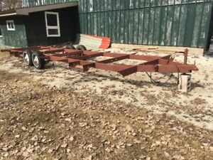 28 FT. trailer ready for tiny home project 600 obo