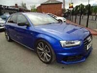 AUDI A4 AVANT 2.0TDI S LINE BLACK EDITION PLUS / SEPANG BLUE RARE CAR 1 OWNER
