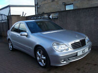 06 56 REG MERCEDES C220 CDi AVANTGARDE SPORT SE DIESEL 4DR AUTO FULL LEATHER