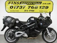 2013 BMW F 800ST, Black, 1 Owner, FSH, Serviced, MOT, Warranty, Panniers.