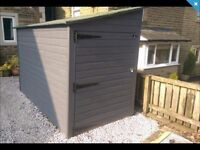 Motorbike shed wanted.