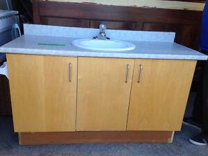 3 Door Vanity, Sink & Taps