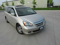 2006 Honda Odyssey EX-L Leather,Sunroof, Up to 3 years warranty.