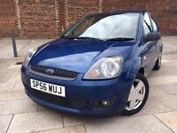 2006 FIESTA ZETEC ++ ALLOYS ++ ELECTRIC WINDOWS ++ CD ++ FEBRUARY MOT.