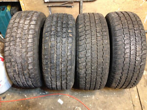 4 Cooper Weather Master studded tires 215 60 15