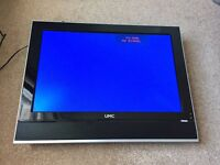 UMC 19'' LCD TV with freeview built in, HDMI, Scart, VGA in full working order.