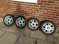 Ford Fiesta Ka Alloy wheels and tyres