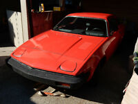Reduced from $750.  1977 TR7 - Garage kept, 47,000 Kil.