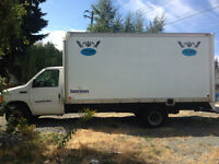 Ford 2006 1 ton 16ft cube van for sale