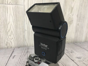 Vivitar 550FD TTL flash in great condition works w/all cameras!