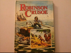 Robinson Crusoe (1975, Hardcover) by Golden Press $5