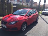 Seat Ibiza 1.2 5 door - red