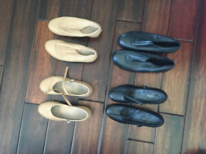 Ladies Tap and Jazz Shoes