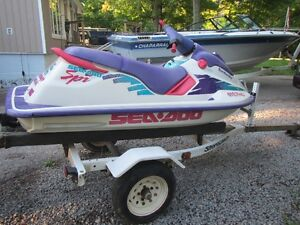 1994 580 SEA DOO WITH TRAILER Kawartha Lakes Peterborough Area image 3