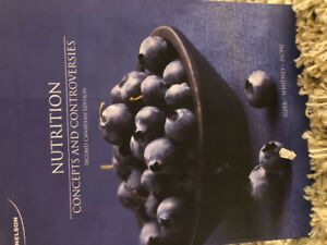 Nutrition Concepts and Controversies, 2nd CAD ed. Sizer, Whitney