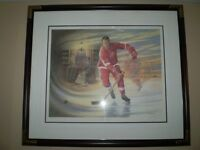 Gordie Howe framed print James Lumbers